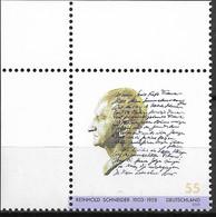 2003 Germany Deutschland   Mi. 2339 **MNH   EOL 100. Geburtstag Von Reinhold Schneider - Unused Stamps
