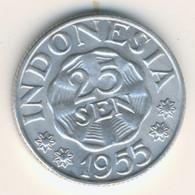 INDONESIA 1955: 25 Sen, KM 11 - Indonesia