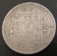 Nepal - Monnaie 50 Paisa Mahendra Bir Bikram 2012 (1955) - Nepal