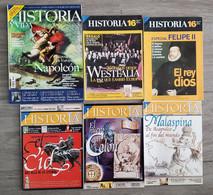 Revistas De Historia, Historia 16, Historia Y Vida, Muy Especial, Clío Historia, Soldados Y Estrategia - [4] Themes