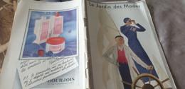 JARDIN DES MODES 32/LEDA/GOUPY MOLYNEUX SCHUPPARELLI  OUFF MIRANDE BOLEROS MARIA GUY - 1900 - 1949
