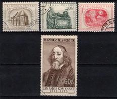 Tchécoslovaquie 1957 Mi 1009-12 (Yv 896-9), Obliteré - Used Stamps
