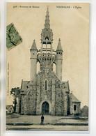 35 THORIGNE FOUILLARD Carte RARE 498  Mary  Rousseliere  Garcon Place De L'Eglise  Du Village     /D17-2017 - Other Municipalities