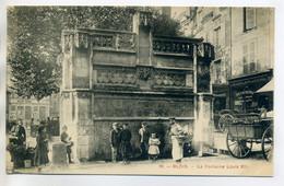 41 BLOIS 18 Petit Livreur Et Son Panier Enfants Fontaine Louix XIII  Cariole 1910   /D13-2018 - Blois