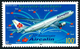 NOUV.-CALEDONIE 2003 - Yv. 902 **   Faciale= 0,84 EUR - Avion AIRCALIN  ..Réf.NCE26602 - Nuovi