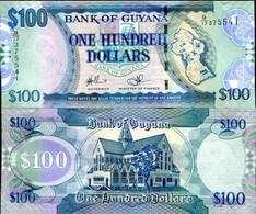 GUYANA 2009  $100 UNC FDS - Guyana