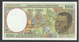 GABON. CENTRAL AFRICAN STATES. 1000 FRANCS. 2000. Pick 402Lg. UNC / NEUF - Gabon