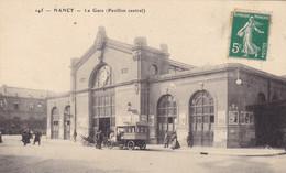 Meurthe-et-Moselle - Nancy - La Gare (Pavillon Central) - Nancy