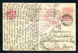 05164 WWI ROMANIA Military CENSOR Card Moara Domnească 1916 Cancel To La Haye Netherlands Russia Legation Via Petrograd - 1. Weltkrieg (Briefe)