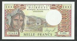 DJIBOUTI. 1000 FRANCS. ND. Pick 37d. UNC / NEUF - Djibouti