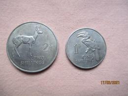 Zambia: 1 + 2 Shillings 1964 - Zambia