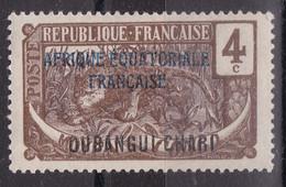 Oubangui - Y&T 45b - Avec Trace De Charnière - Unused Stamps