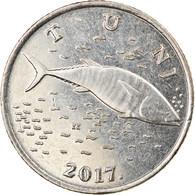 Monnaie, Croatie, 2 Kune, 2017, TTB, Copper-Nickel-Zinc, KM:New - Croatia