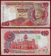 MALAYSIA BANKNOTE - 10 RINGGIT (1995) P#36 VF (NT#02) - Malaysia