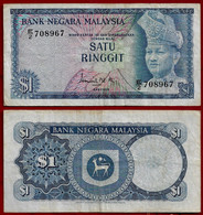 MALAYSIA BANKNOTE - 1 RINGGIT (1972-76) P#7 VF (NT#02) - Malaysia