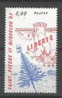 Timbre St Pierre Et Miquelon Neuf ** N 504 - Ongebruikt