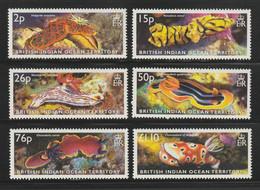 BRITISH INDIAN OCEAN TERRITORY - 2003 - ( Sea Slugs ) - MNH** - British Indian Ocean Territory (BIOT)