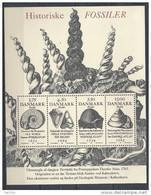 Danemark 1998 Bloc Feuillet N° 12  Neuf ** Fossiles - Hojas Bloque