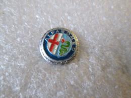 PIN'S   LOGO   ALFA  ROMEO  Ø  13mm  Aluminium - Alfa Romeo
