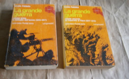 LA GRANDE GUERRA 1 GUERRA MONDIALE FRONTE ITALIANO BATTAGLIE ISONZO CAPORETTO PIAVE 1 EDZ DUE VOLUMI - War 1914-18