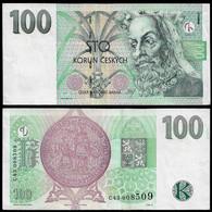 CZECH REPUBLIC BANKNOTE - 100 KORUN 1997 P#18 XF/AU (NT#02) - Czech Republic