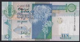 SEYCHELLES   10 RUPEES  1998  P-36 NEW UNC FDS NEW SIGNATURE 2005 - Seychelles