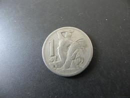 Czechoslowakia 1 Korun 1924 - Checoslovaquia