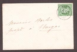 LSC - T17 Dax Pour Heugas - Napoléon III N° 20 Vert - 1849-1876: Klassieke Periode