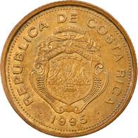 Monnaie, Costa Rica, 10 Colones, 1995, TTB, Brass Plated Steel, KM:228 - Costa Rica