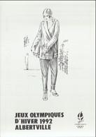 France Postcard 1992 Albertville Olympic Games - Mint (G127-40) - Inverno1992: Albertville