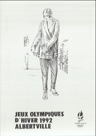 France Postcard 1992 Albertville Olympic Games - Mint (G127-40) - Winter 1992: Albertville