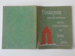 1910 Diekirch Grand Duché Du Luxembourg Propriété Exclusive De Hôtel Du Midi Khon Frères Guide Illustré D'excursions - Diekirch