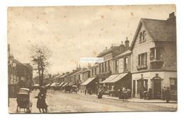 Molesey - Walton Road, Shops - Old Surrey Postcard - Surrey