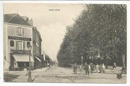 SAINT-BRIEUC (22) Boulevard Charner,vers La Caserne - Saint-Brieuc