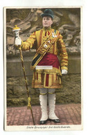 3rd Scots Guards - State Drummer - 1906 Used Postcard - Regimientos