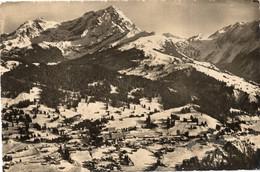 VILLARS SUR OLLON - VUE AERIENNE - FORMATO PICCOLO - VIAGGIATA 1949 - (rif. V91) - VD Vaud