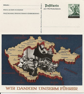 DR P 279 ** - 6 Pf 1. Mai Großdeutschland - Entiers Postaux