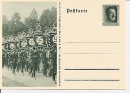 DR P 264-06 ** - 6 Pf Reichsparteitag, Bild Standarten - Ganzsachen