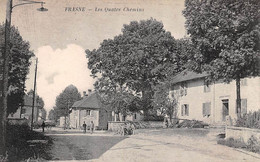 25 - N°73963 - FRASNE - Les Quatre Chemins - Altri Comuni