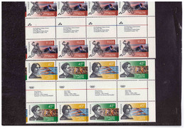 """BF705  -  AUSTRALIA /   CAT. MICHEL  1579/1581   ( Y&T.  1534/153   )   NUOVO **MNH  """"   GUTTER PAIR """" - Used Stamps"""
