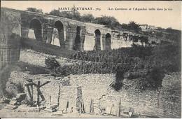 SAINT FORTUNAT Les Carrières Et L' Aqueduc Taillé Dans Le Roc - Andere Gemeenten