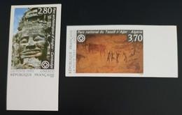 PMo - FRANCE SERVICE Série N° 110 Et 111 ** BdF Non Dentelé - Ungezähnt