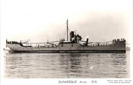 Bateau - Marius Bar Toulon - Aviso Dunkerque (1918) - Krieg