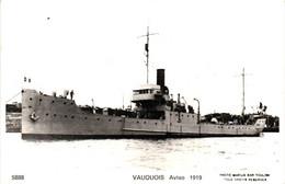 Bateau - Marius Bar Toulon - Aviso Vauquois (1919) - Krieg