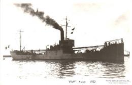 Bateau - Marius Bar Toulon - Aviso Vimy (1932) - Krieg