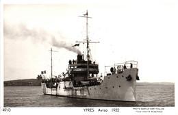Bateau - Marius Bar Toulon - Aviso Ypres (1932) - Krieg