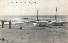 LES SAINTES MARIES DE LA MER La Plage à L' Ouest - Saintes Maries De La Mer