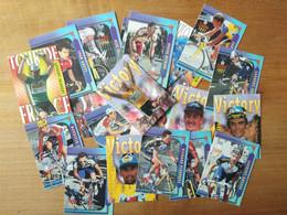 Cyclisme - 21 Cartes Tour De France 1997 : Jalabert, Casagrande, Gotti, Rijs, Brochard ... - Cycling