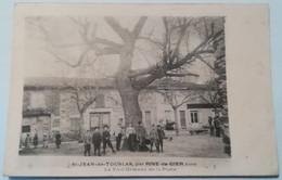 42 St.JEAN-DE-TOUSLAS Par RIVE-DE-GIER LE VIEIL ORMEAU DE LA PLACE - Sonstige Gemeinden