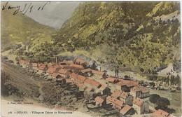 38  Oisans  - Massif De L'oisans -  Village  Et Usines De Riouperoux - Otros Municipios